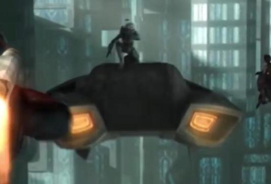 The Clone Wars Speeder
