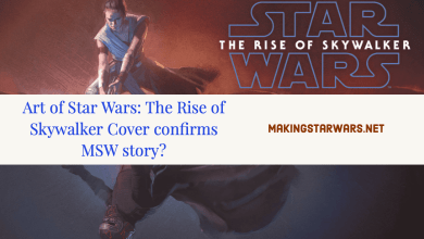 Photo of Art of Star Wars: The Rise of Skywalker Cover confirms MSW story?