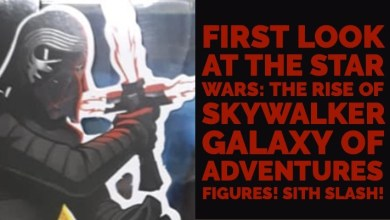 Photo of First Look At The Star Wars: The Rise Of Skywalker Galaxy Of Adventures Figures!