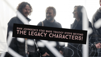 Photo of Rian Johnson's Star Wars Trilogy steps beyond the legacy characters!