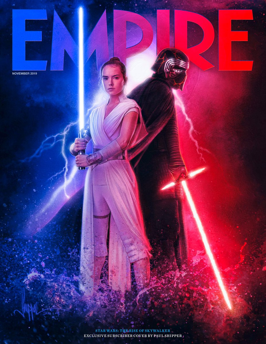 Star Wars The Rise Of Skywalker Empire Magazine Covers Making Star Wars