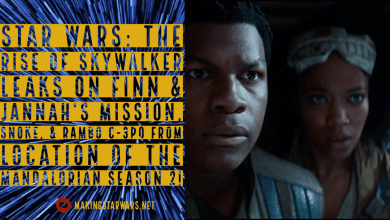 Photo of Star Wars: The Rise of Skywalker Leaks on Finn & Jannah's mission, Snoke, and Rambo C-3PO!