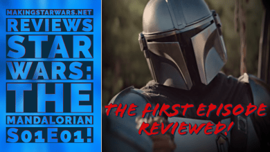 Photo of MakingStarWars.net reviews Star Wars: The Mandalorian S01E01!