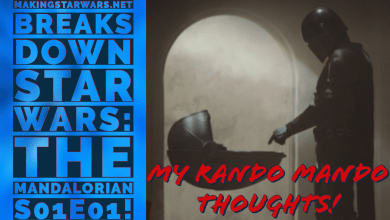 Photo of Star Wars: The Mandalorian S01E01 videos! Extended review and the Dr. Pershing Cloner connection!