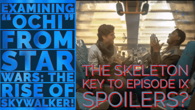 """Photo of Examining """"Ochi"""" from Star Wars: The Rise of Skywalker: The Skeleton Key to Episode IX Spoilers."""