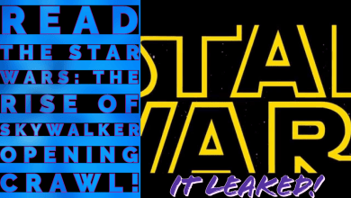 Photo of Read the Star Wars: The Rise of Skywalker Opening crawl!