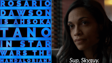 Photo of Rosario Dawson to play Ahsoka Tano in Star Wars: The Mandalorian season 2?