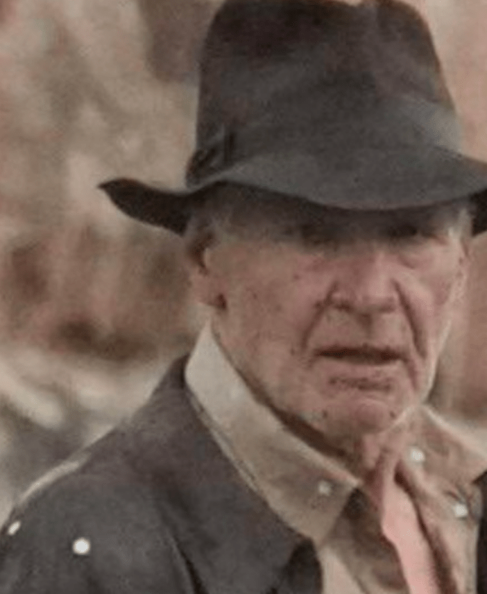 Photo of Harrison Ford injured during the filming of Indiana Jones 5!