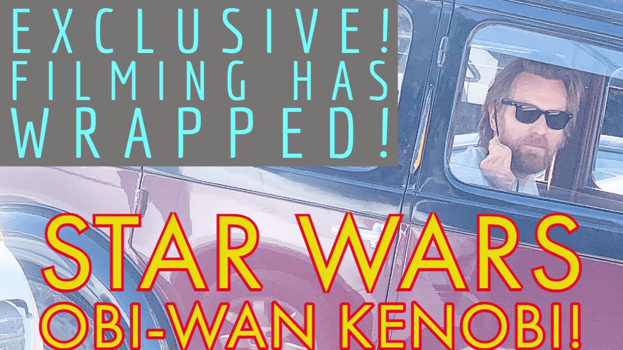Photo of Star Wars: Obi-Wan Kenobi has wrapped filming and a few weird chance encounters.