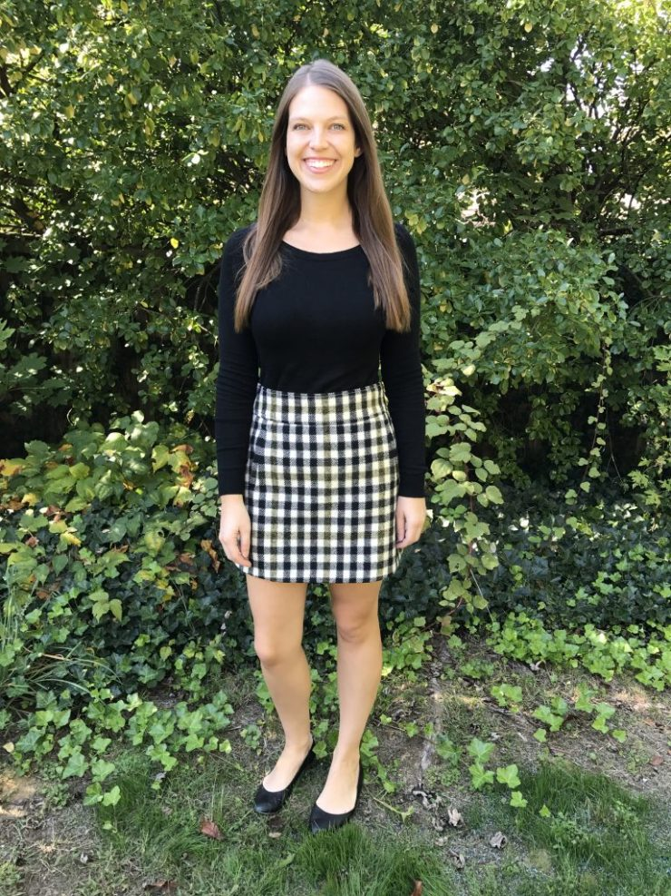 J. Crew Plaid Skirt