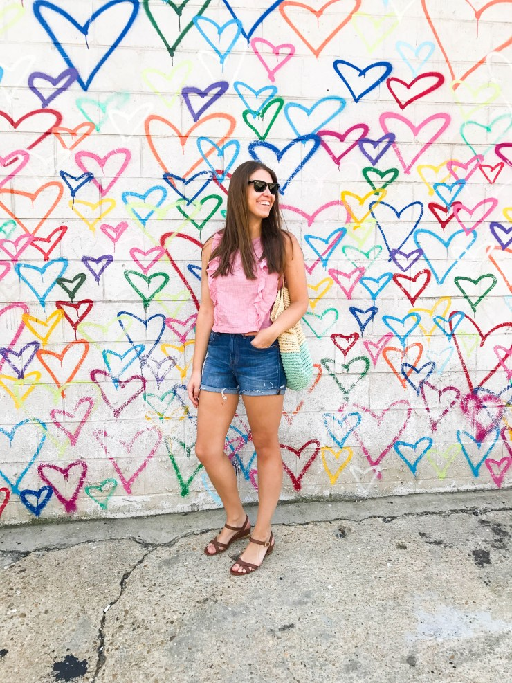 Union Market DC Heart Wall