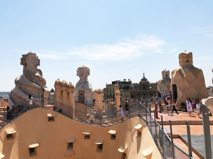 A Day in Barcelona, Part 2: Casa Mila, Casa Battlo, and Rooftop Tapas!