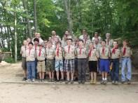 Troop 35 at Camp Tesomas - June 2011