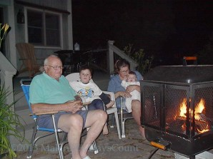 grandpa and the fire