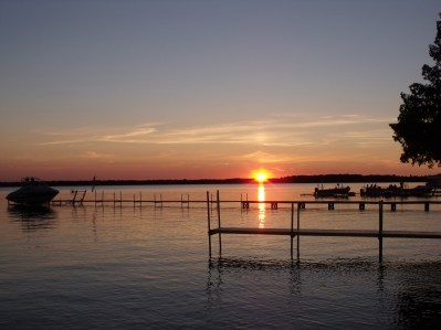 Monday night's sunset