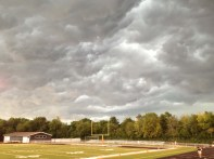 looking north-northwest