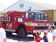 an old firetruck...