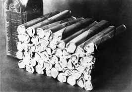 dynamite - image courtesy of NobelPeacePrize.org