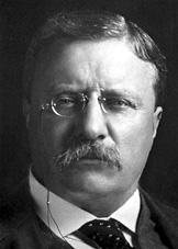 Teddy Roosevelt - image courtesy of NobelPeacePrize.org