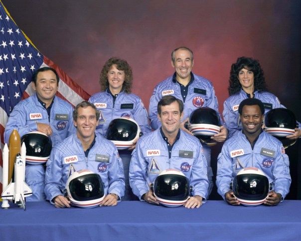 Challenger crew photo courtesy of Smithsonian Air and Space Museum