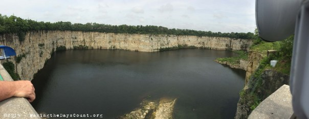 the quarry - not even close to being full