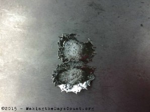 molten tin on aluminum