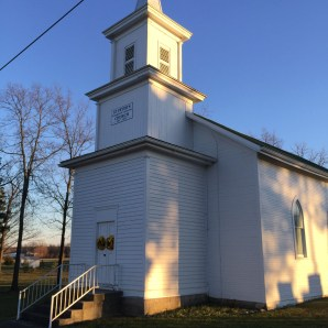 the church - built in 1850, it is magnificent and on the National Register