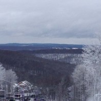 view from the top of the hill - photo courtesy of O