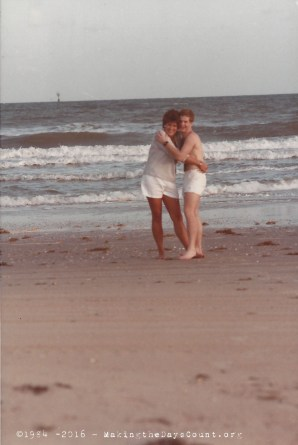 our trip to the beach - August '84