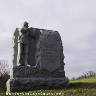 an Ohio infantry unit is honored