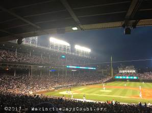late, Cubs up to bat