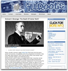Asher Roth feature on IllRoots.com