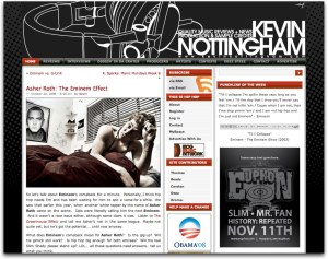 Asher Roth feature on KevinNottingham.com