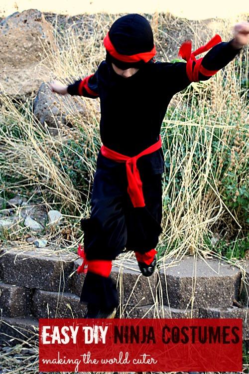 Image result for ninja diy costume
