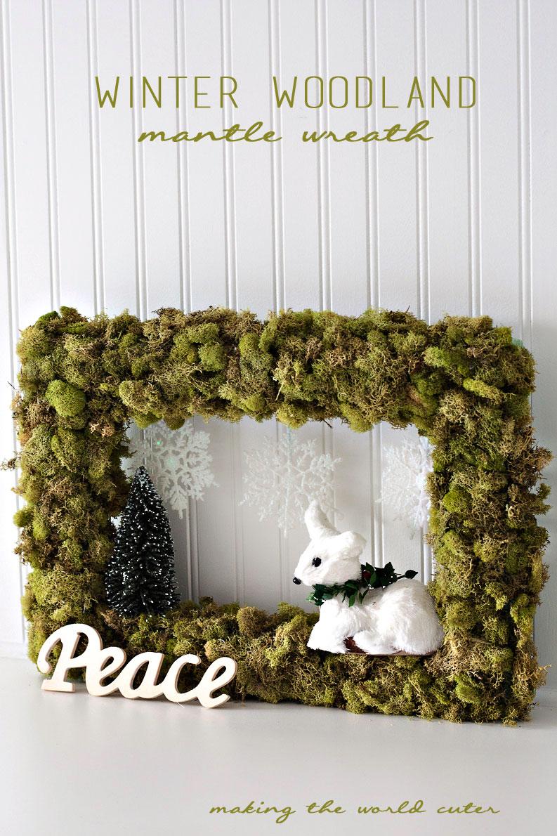 Winter Woodland Mantle Wreath