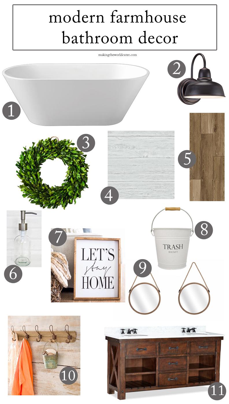 How to Create a Stunning Modern Farmhouse Bathroom on Farmhouse Modern Bathroom Ideas  id=16001
