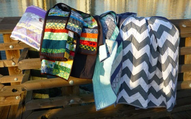 Gifted Quilts for my Loved Ones.