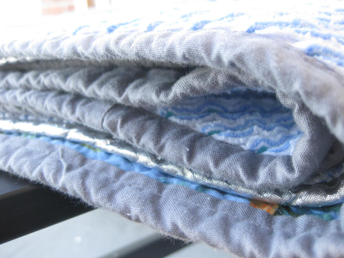 Faux Chenille Blanket