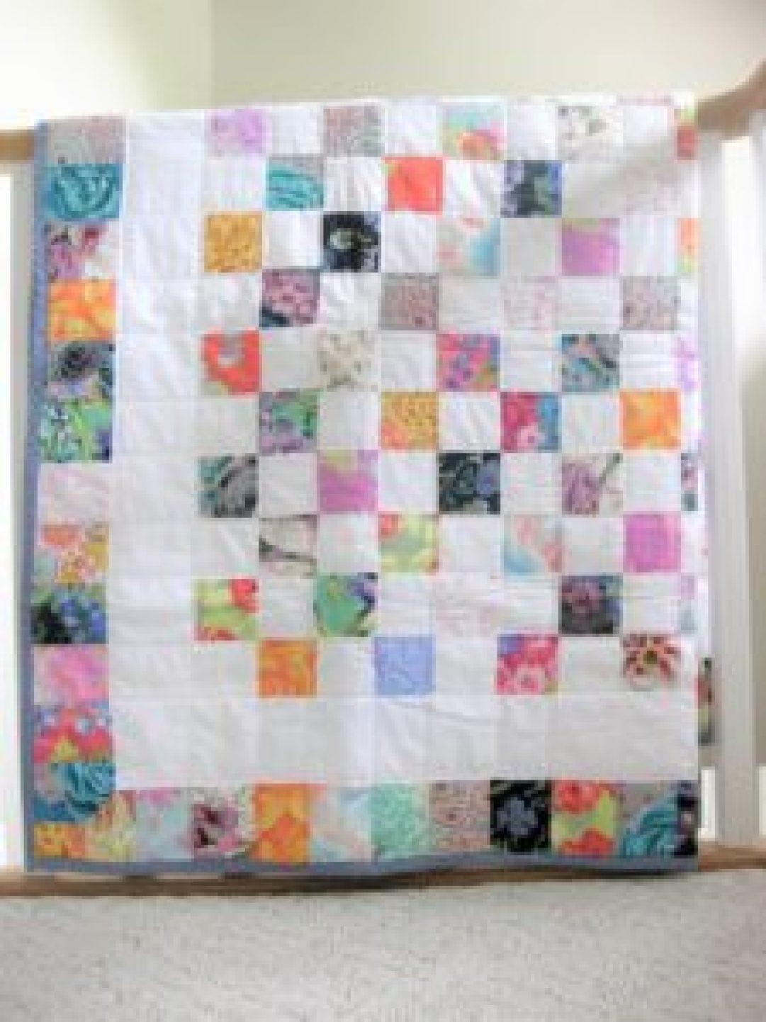 DIY Checkered Quilt