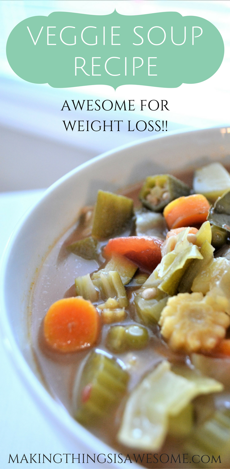 Veggie Soupe Recipe - awesome for weight loss