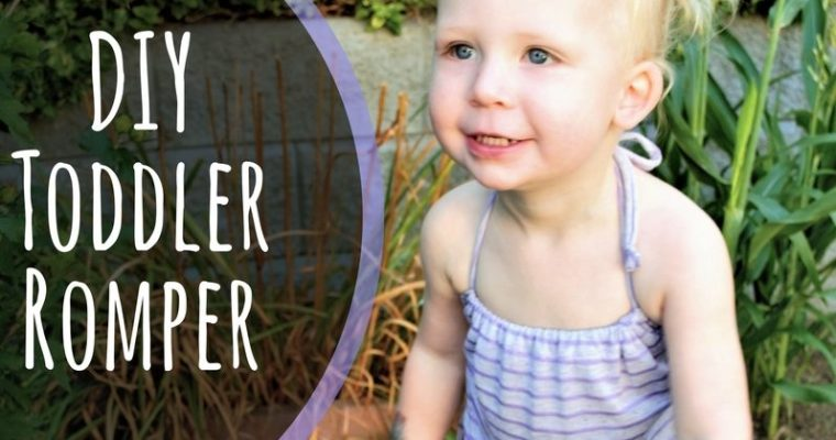 Easy DIY Toddler Romper Tutorial!