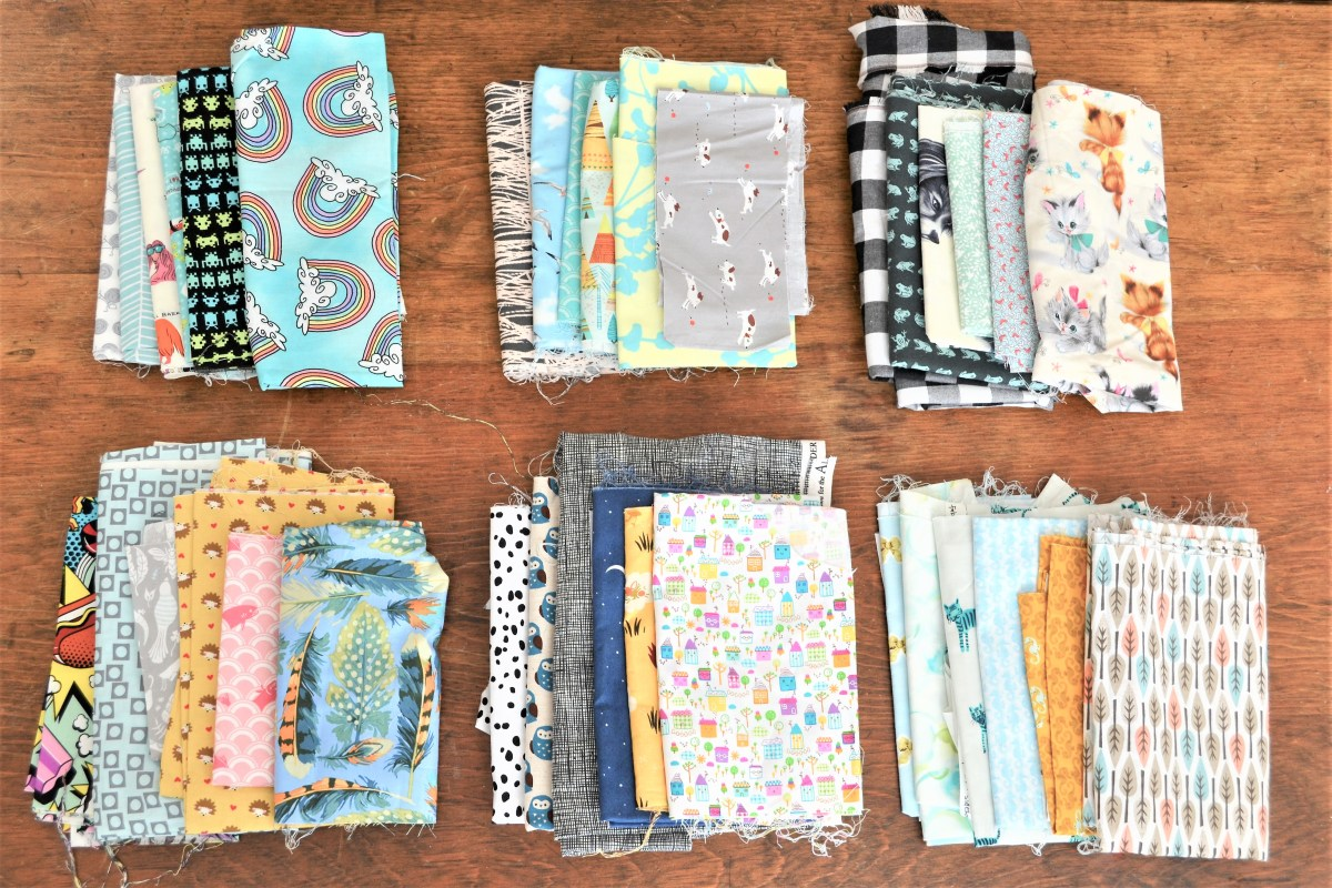 How to Sew Baby Blocks With Taggies! - fabric