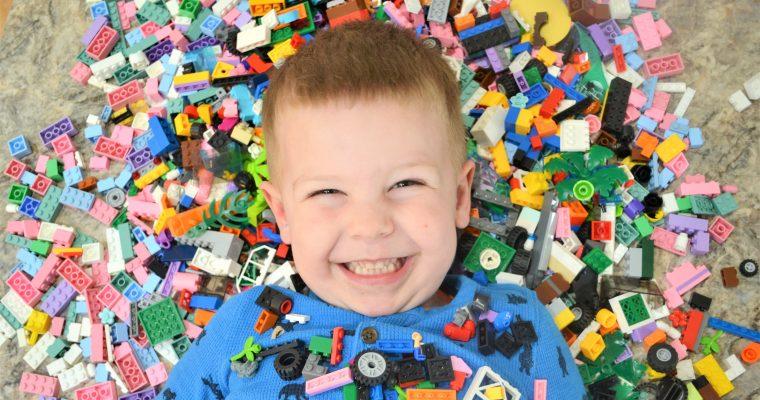 Corbin's 4!! Fun Kids LEGO Birthday Party Ideas!