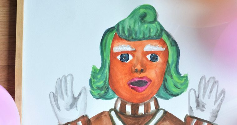 Ivy's Oompa Loompa, Pink Sheep, Charlie & the Chocolate Factory, Play Dough, 3rd Birthday Party!!