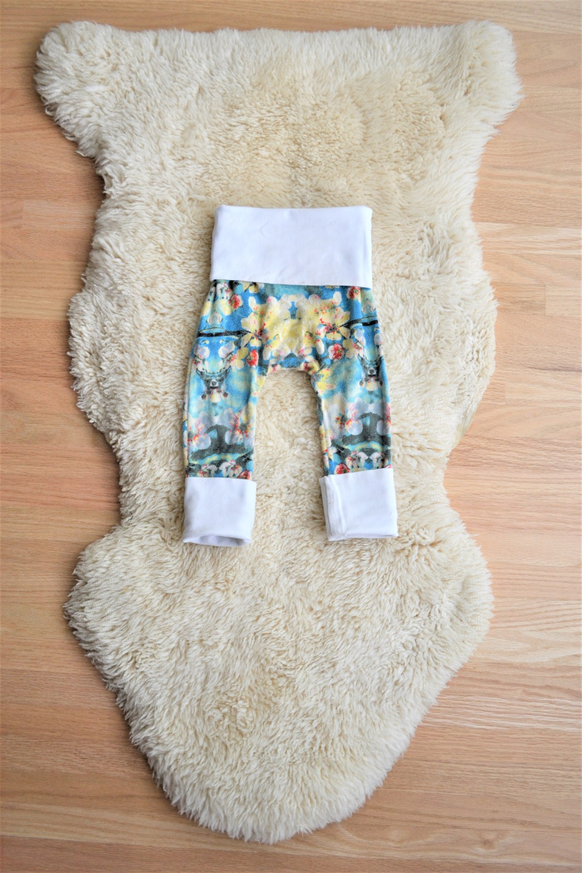 How to Make Kids Clothes - Grow with me pants
