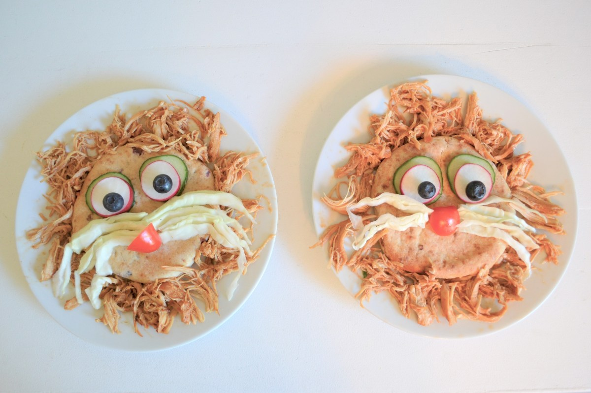 Lion Themed Kids Meal Idea - lion faces