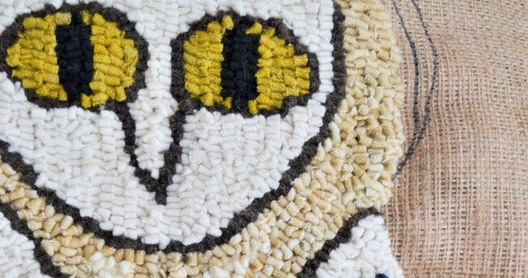 Rug Hooking! – Snowy Owl Rug Hooking Kit