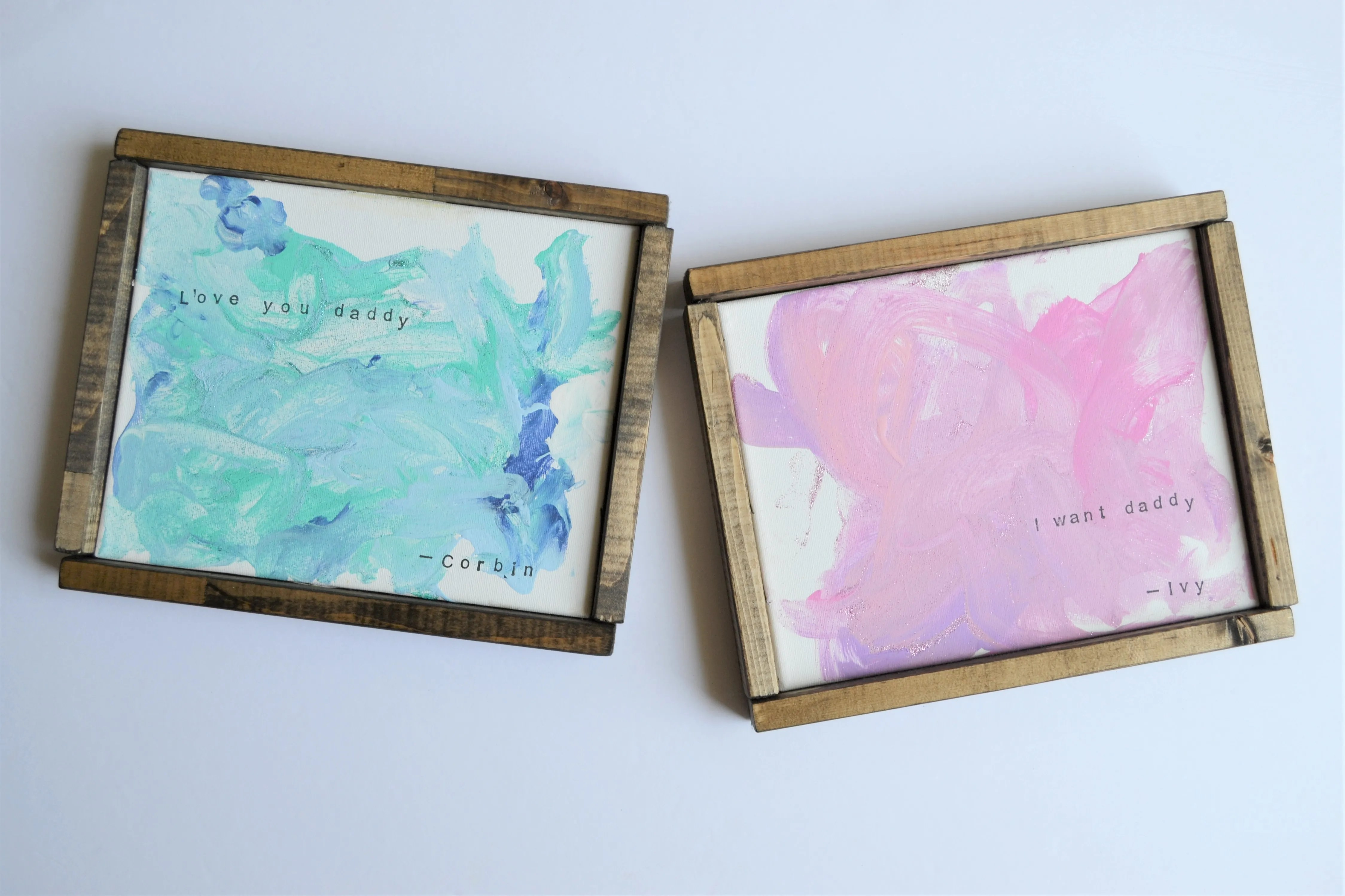 Canvas Painting Ideas for Kids: with Easy DIY Canvas Frames - Making ...