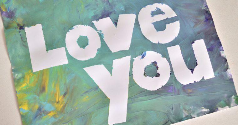 Valentine's Day Toddler Art Gift Idea! – Framable Kids Art!