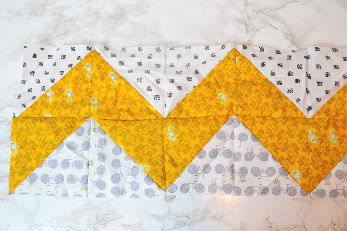 Chevron Quilt Pattern - Quilt Patterns for Beginners! - easy